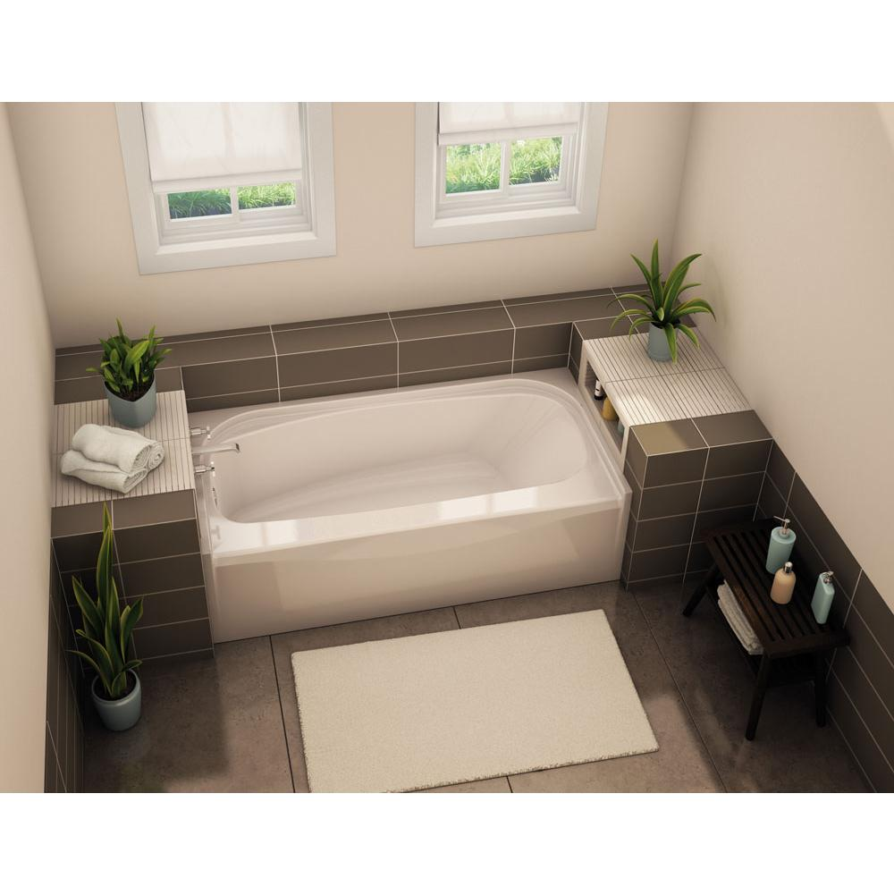 Aker Three Wall Alcove Whirlpool Bathtubs item 142014-R-058-007