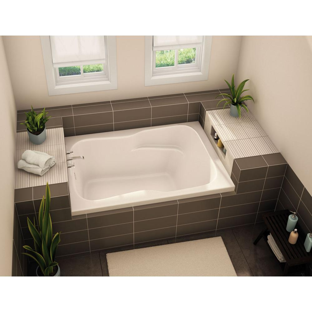 Aker Three Wall Alcove Whirlpool Bathtubs item 141088-L-057-004