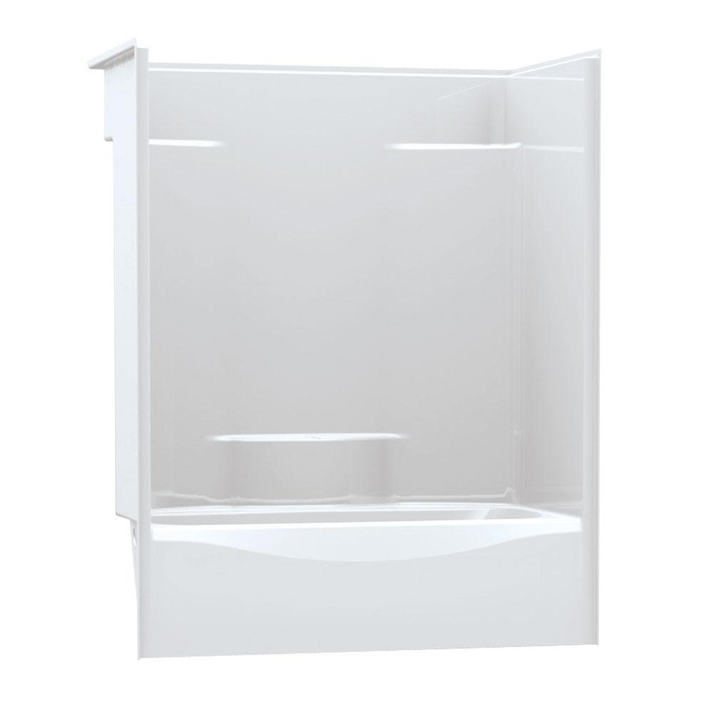 Aker Shower Enclosures Alcove Bone | Rundle Spence - New Berlin ...