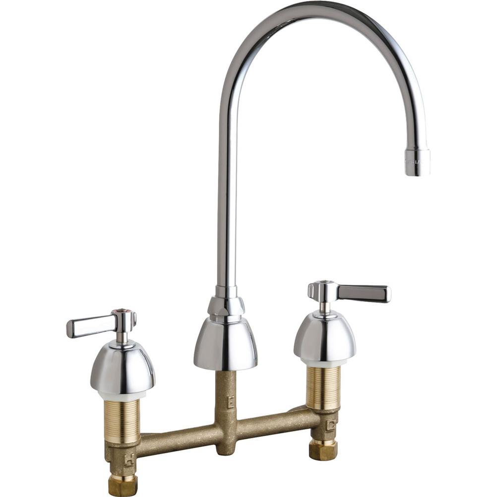 Chicago Faucets Widespread Bathroom Sink Faucets item 201-AGN8AE35ABCP
