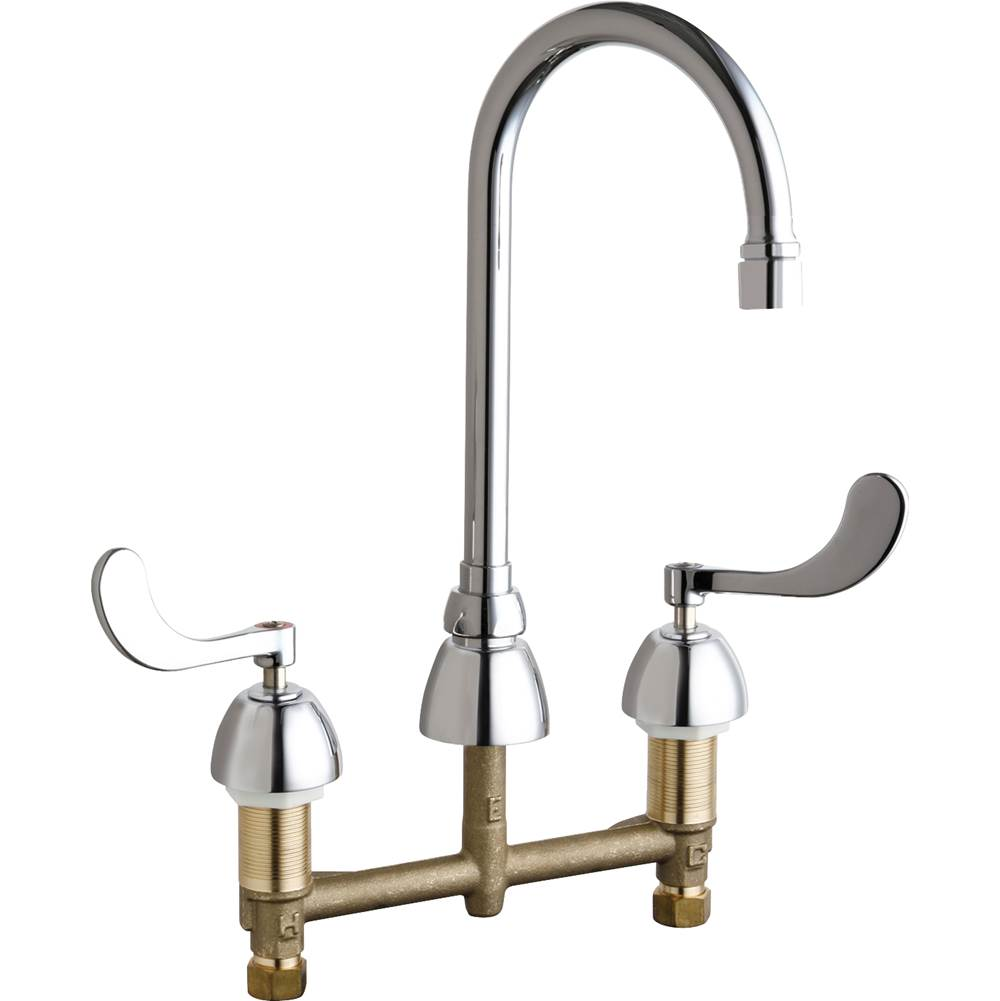 Chicago Faucets  Bathroom Sink Faucets item 786-GR2E35V317XKAB