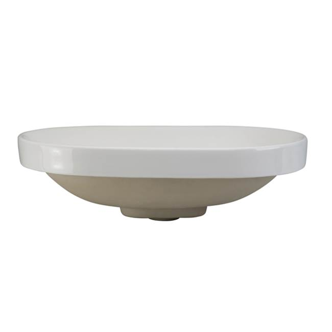 Decolav Drop In Bathroom Sinks item 1457-CWH