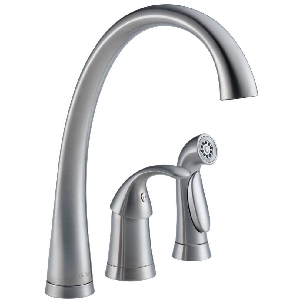 Delta Faucet Single Hole Kitchen Faucets item 4380-AR-DST