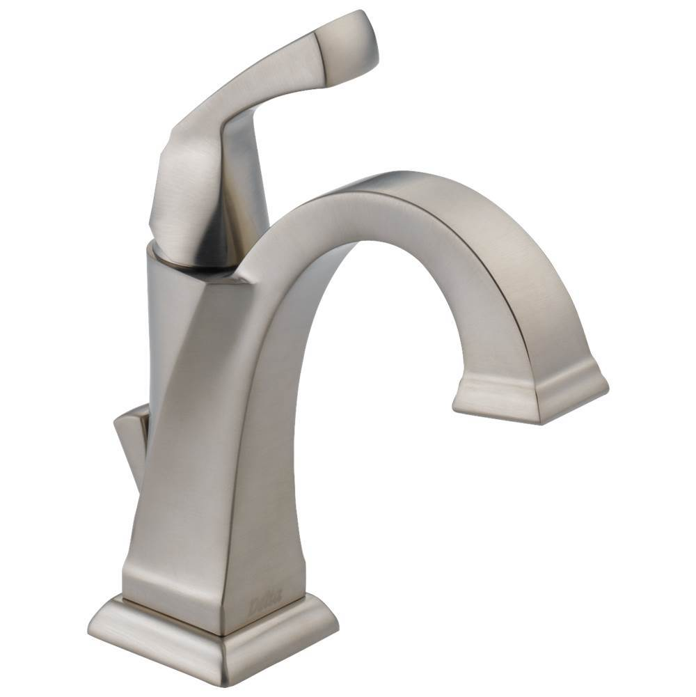 Delta Faucet Single Hole Bathroom Sink Faucets item 551-SS-DST