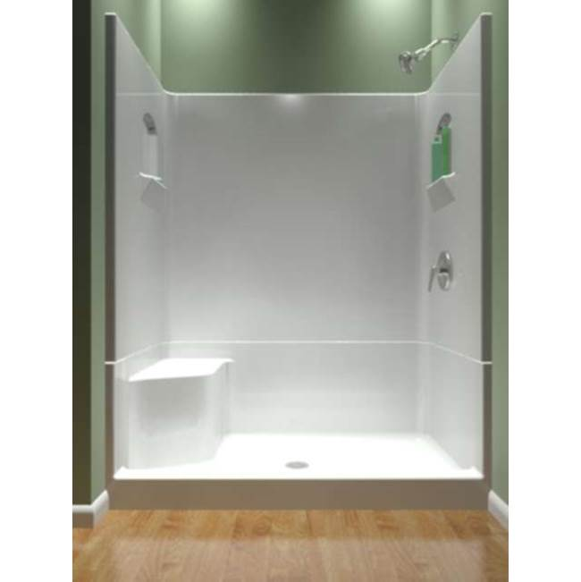Diamond Tub And Showers Bypass Shower Enclosures item SRLB4 603677