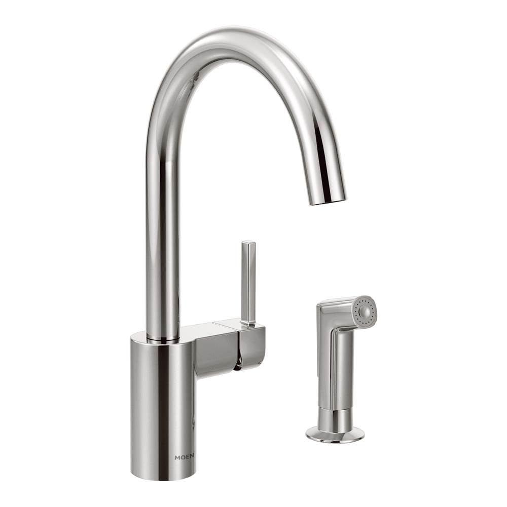 Moen Single Hole Kitchen Faucets item 7165