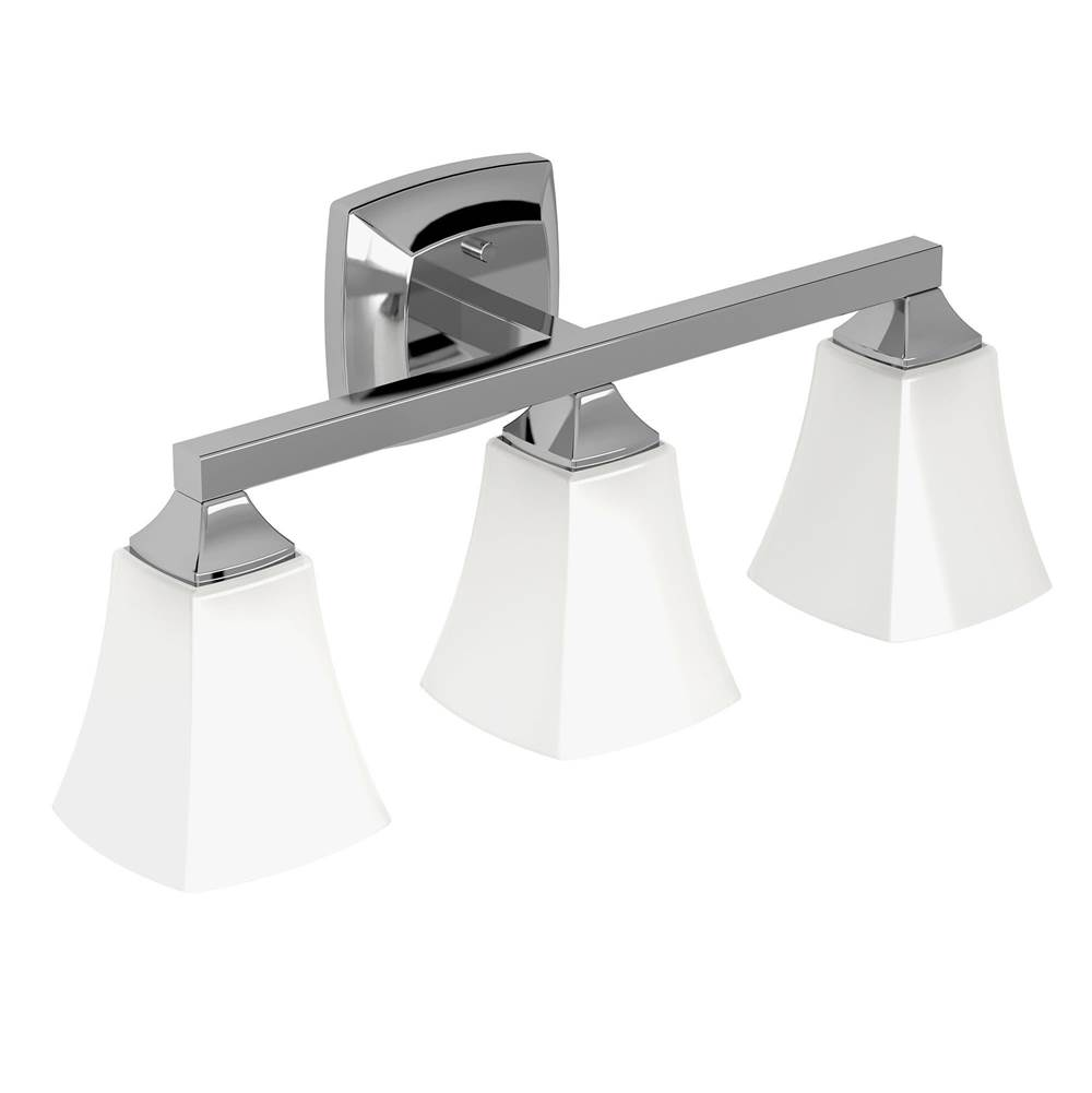Moen Three Light Vanity Bathroom Lights item YB5163CH