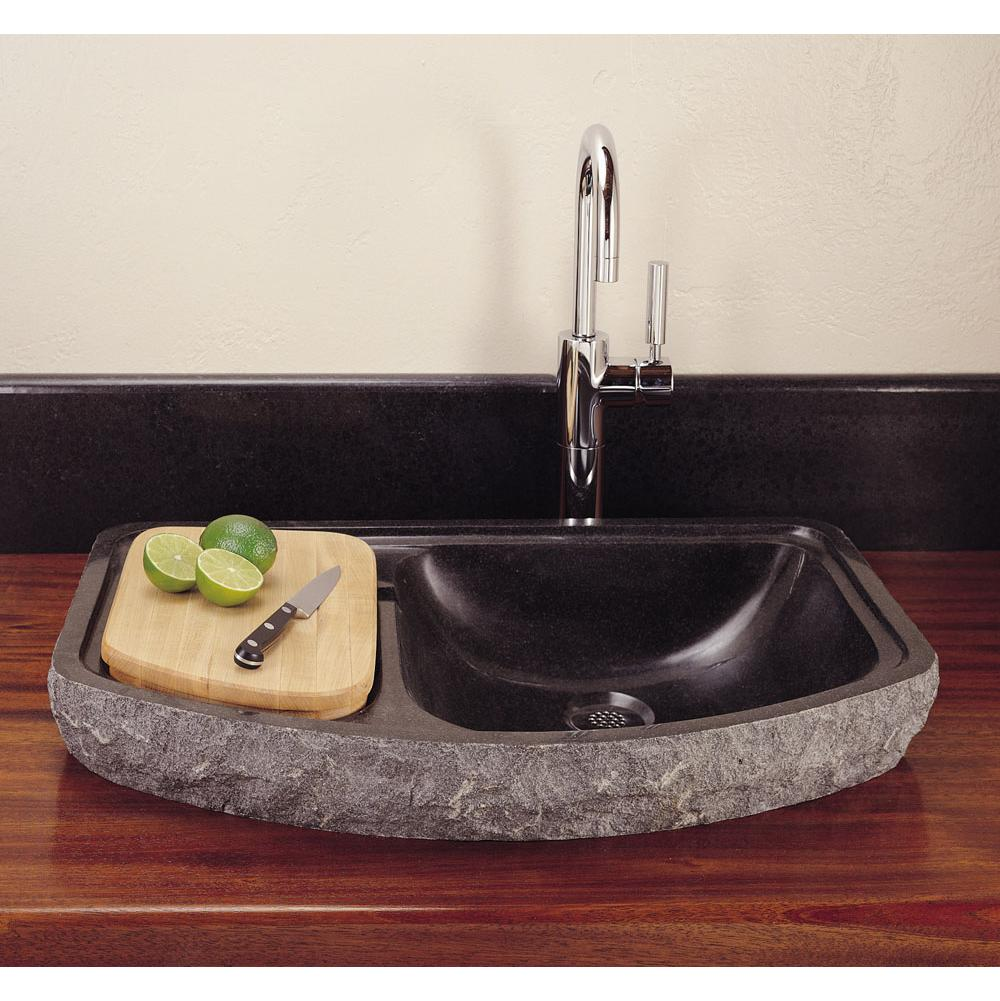 Stone Forest Drop In Bar Sinks item C04-SR1  BL