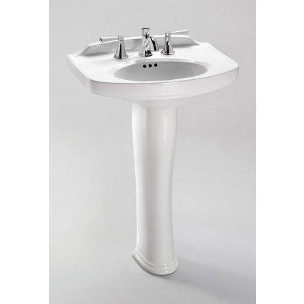 Toto Pedastal Only Pedestal Bathroom Sinks item PT642#12